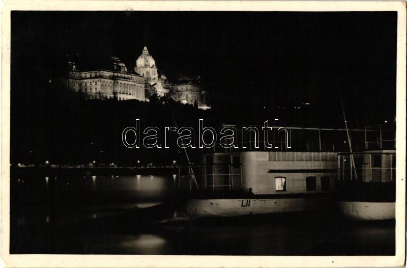 Budapest I. Királyi vár, este