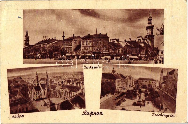 Sopron, Várkerület, Széchenyi tér