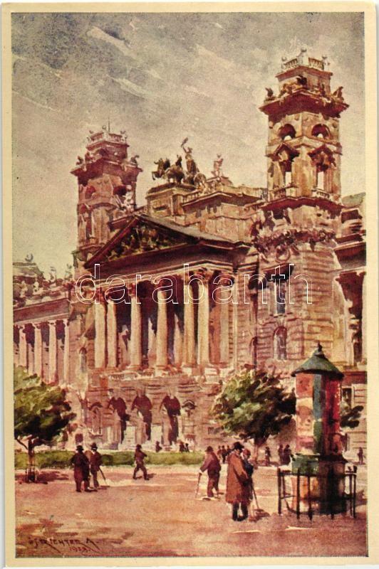 Budapest V. Igazságügyi Palota s: Ifj. Richter A.