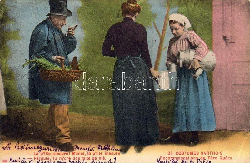 Folklore from Sarthois, Sarthois folklór