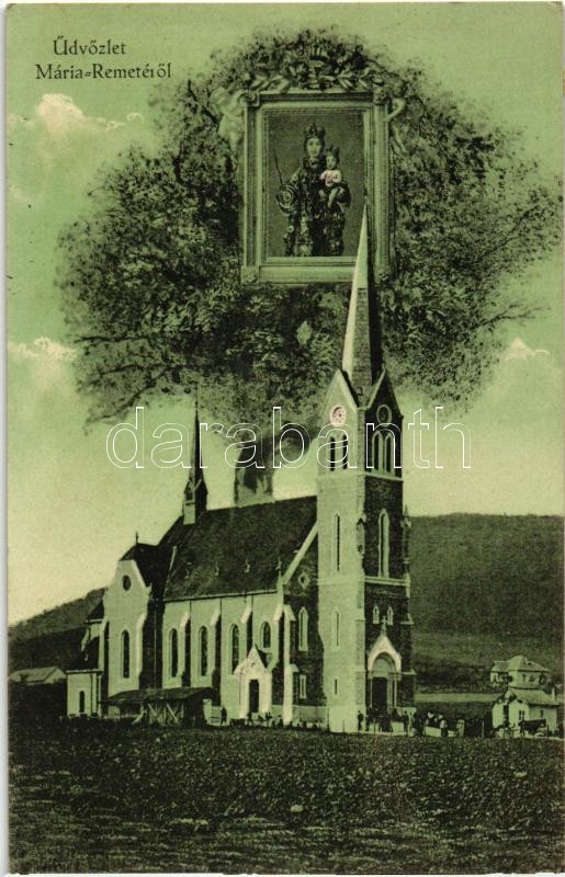 Budapest II. Máriaremete, Kegytemplom, Kegykép