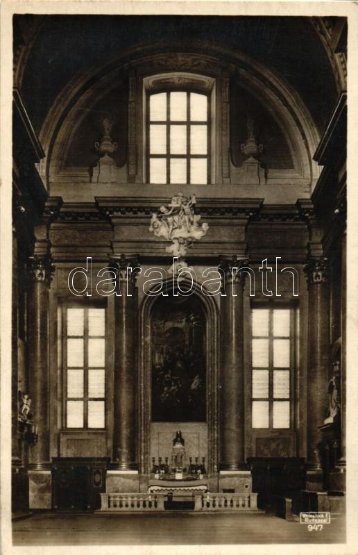Szombathely, Székesegyház oldalhajója, Szent Márton oltár, belső