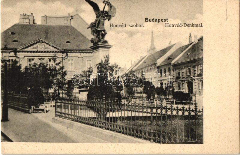 Budapest I. Honvéd szobor