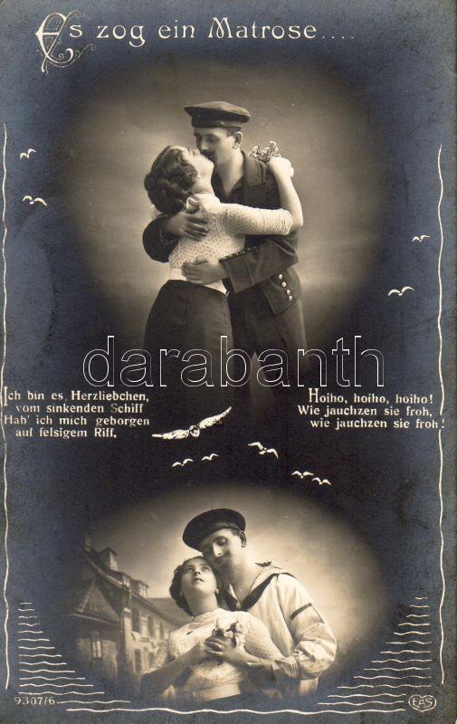 Navy, romantic couple, Haditengerész, romantikus pár