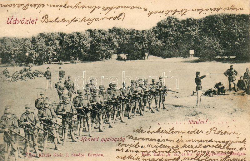 Hungarian Defense Artillery, Magyar Honvéd Tűzérség, kiadja Klein J. Sándor