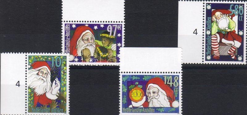 Christmas margin set, Karácsony ívszéli sor, Weihnachten Satz mit Rand