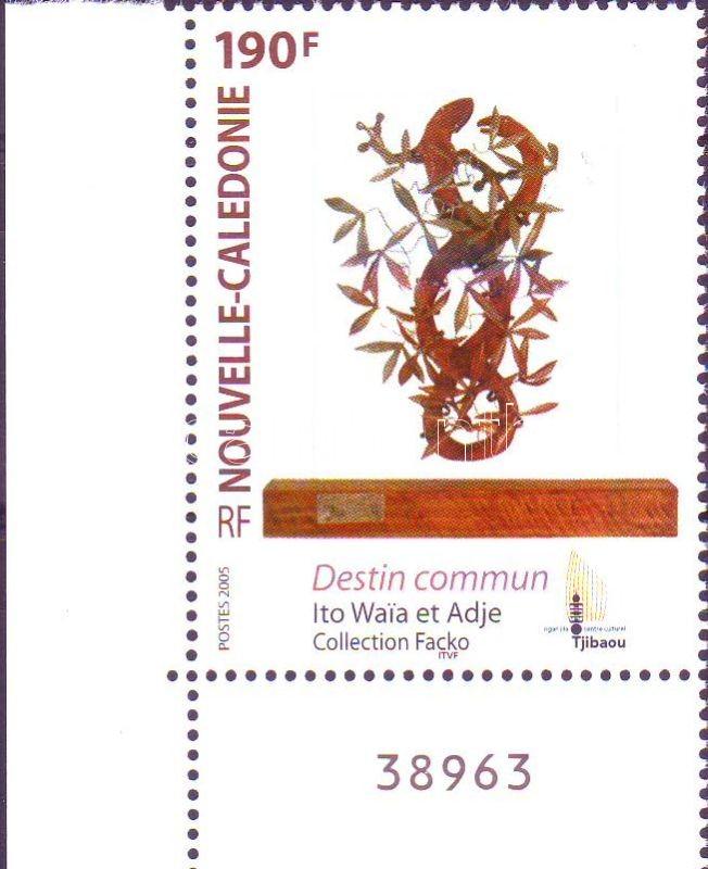 Work of art corner stamp, Műalkotás ívsarki bélyeg, Kunstwerk Marke mit Rand