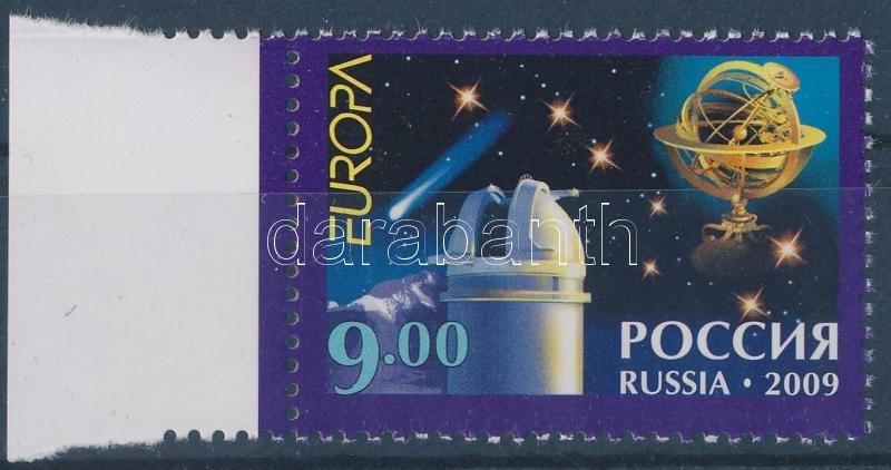 Europa CEPT astronomy margin stamp, Europa CEPT csillagászat ívszéli bélyeg, Europa CEPT Astronomie Marke mit Rand