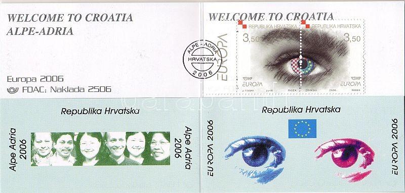 Europa CEPT, integration stamp booklet, Europa CEPT, integráció bélyegfüzet, Europa CEPT, Integration Markenheftchen