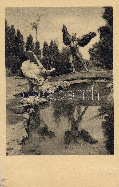 Margit Müller and Kálmán Solymossy 'Swan Lake', Müller Margit és Solymossy Kálmán 'Hattyúk tava'