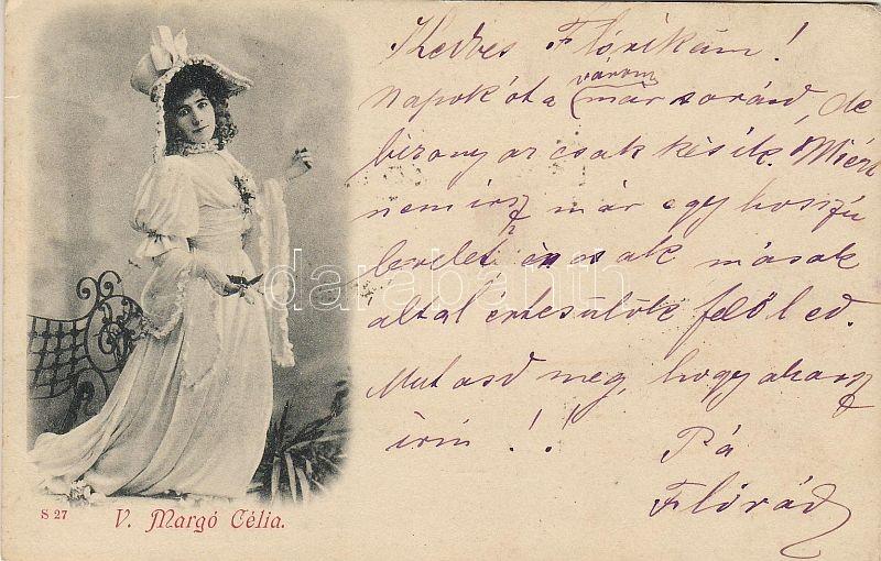 1898 V. Margó Célia