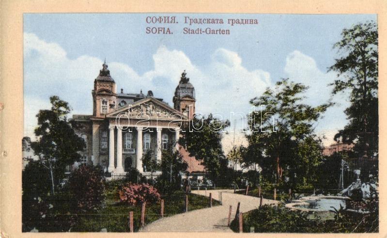 Sofia, Stadt-Garten / city park