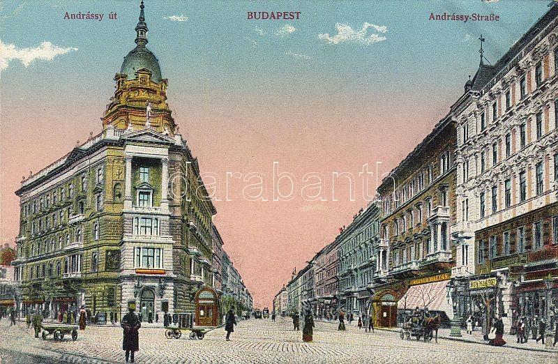 Budapest VI. Andrássy út, Weiner Mátyás boltja