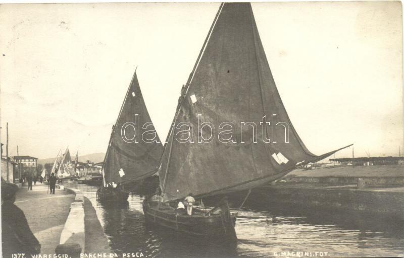 Viareggio, barche da Pesca / Fishing boats, photo