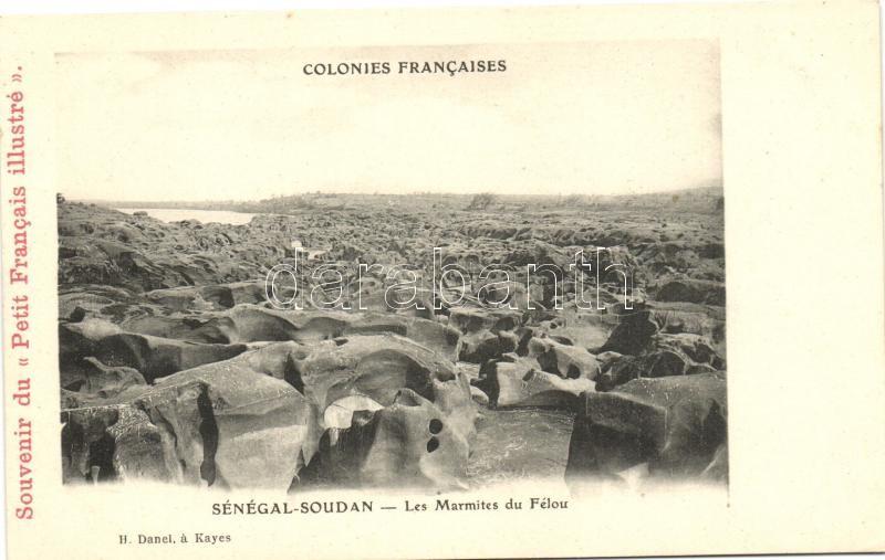 Félou, Les Marmites / rocks