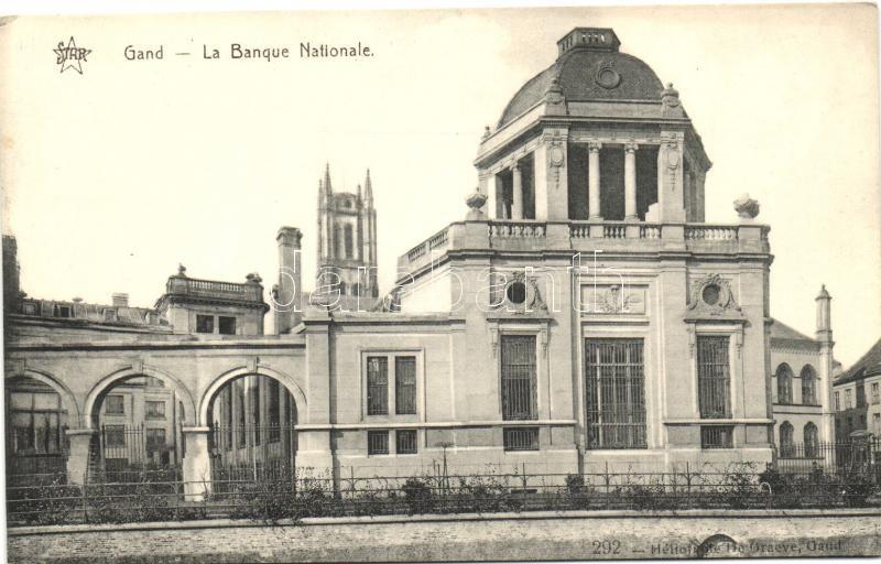 Ghent, Gand; National Bank