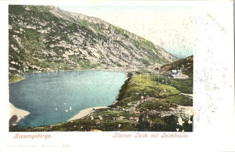 Krkonose, Riesengebirge; Kleiner Teich, Teichbaude