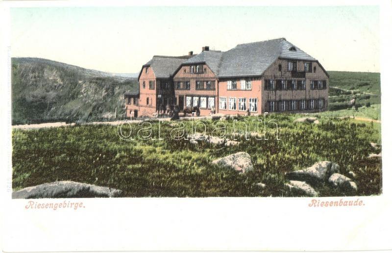 Krkonose, Riesengebirge; Riesenbaude