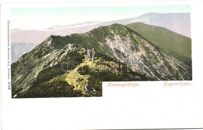 Krkonose, Riesengebirge; Ziegenrüceken