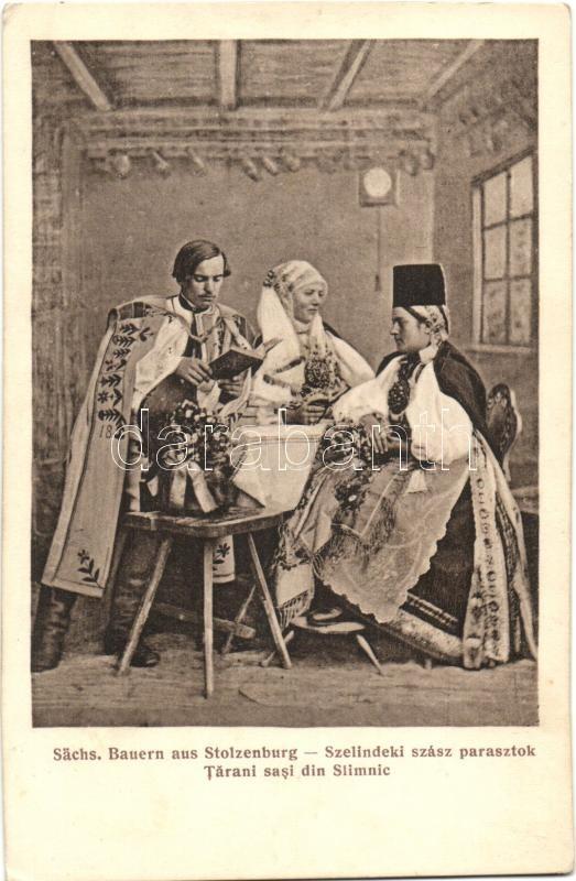 Transylvanian Saxon folklore from Szelindek Szelindeki szász parasztok