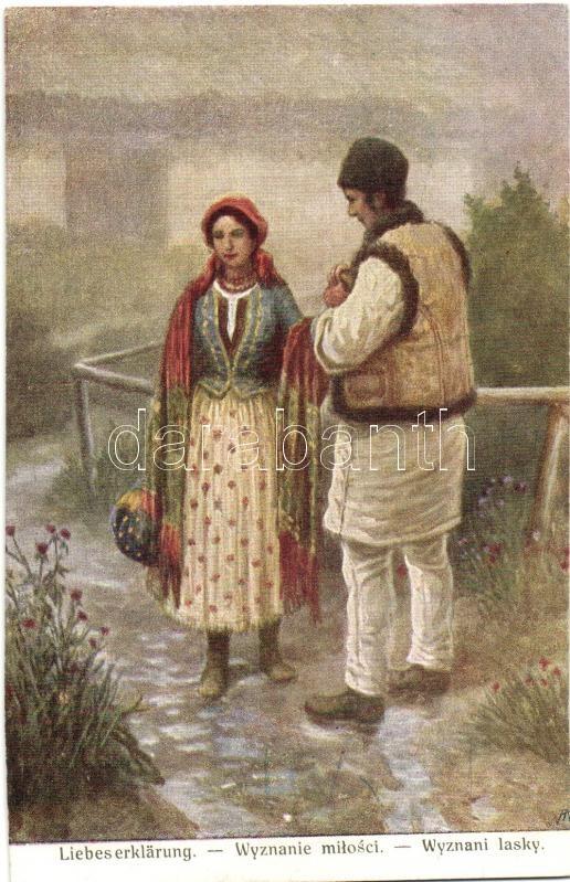 Polish folklore, A.F.W. III/2. Nr. 862. Lengyel folklór, A.F.W. III/2. Nr. 862.
