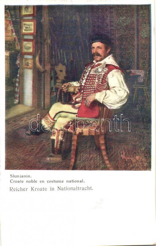 Reichter Kroate  / Croatian folklore Horvát folklór
