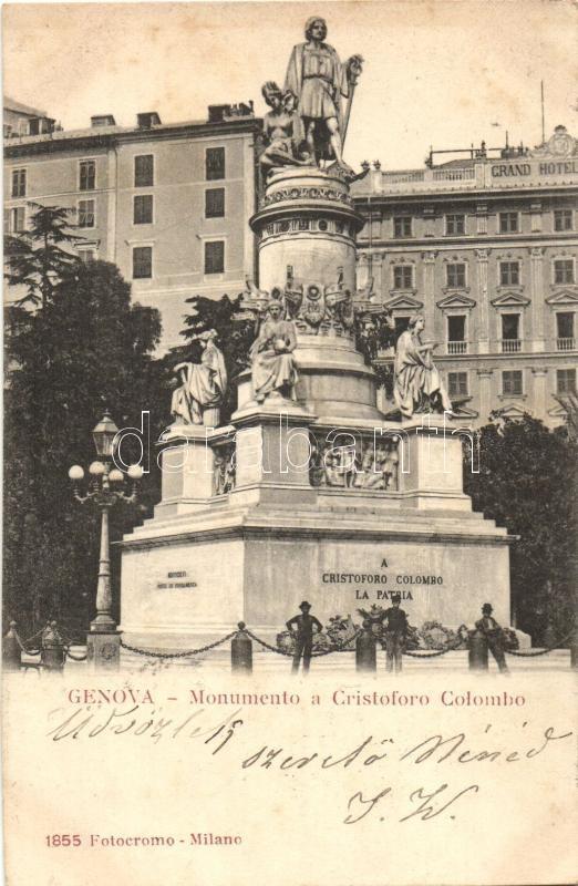 Genova, Monumento a Cristoforo Colombo / monument