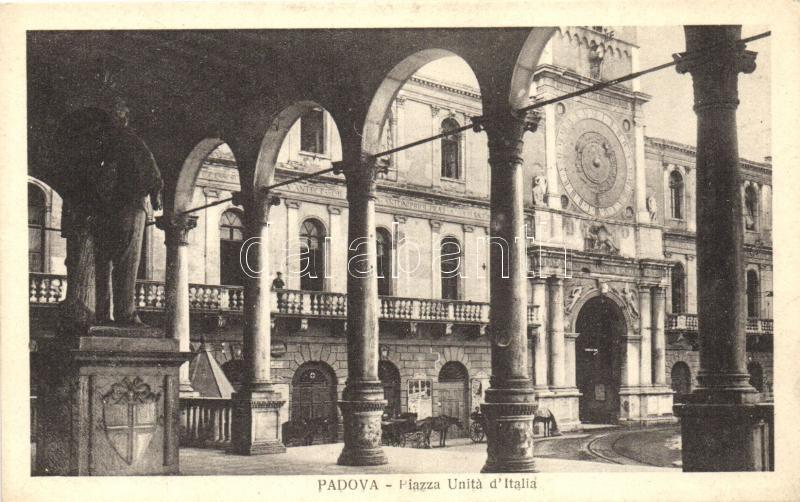 Padova, Piazza Unitá d'Italia