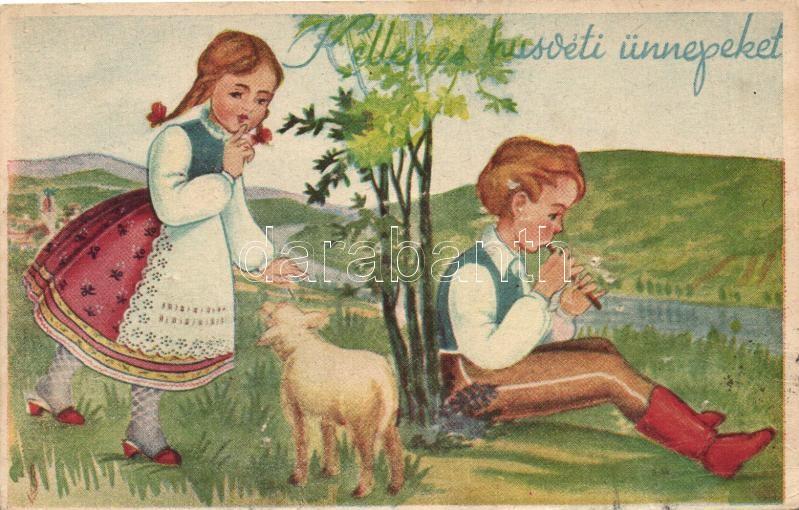 Easter, Hungarian folklore Húsvét, magyar folklór