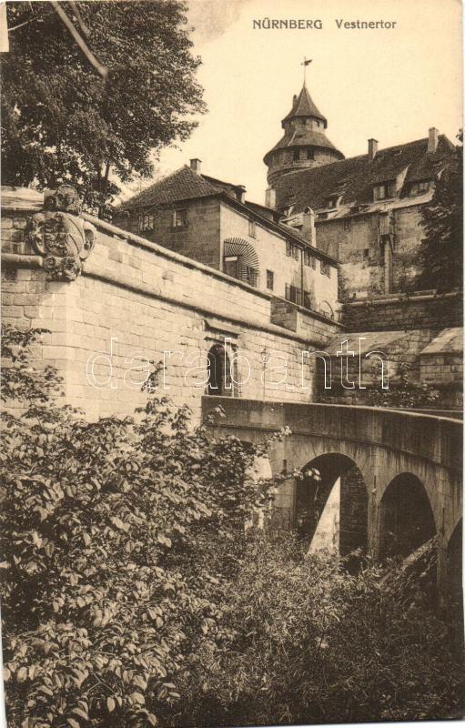 Nürnberg, Vestnertor / tower