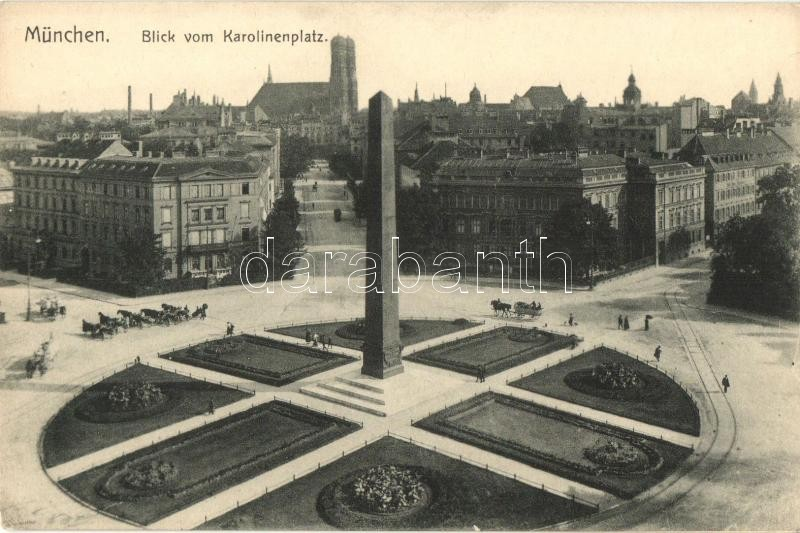 München, Karolinenplatz / square