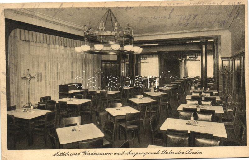 Berlin, Münchener Löwenbrau, Mittel und Vorderraum / beer hall interior