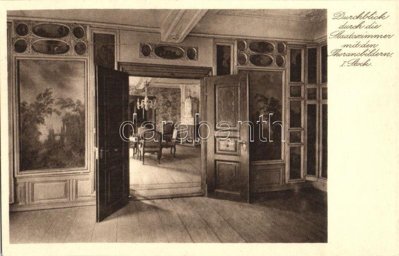 Frankfurt am Main, Goethehause, Staatszimmer / room interior