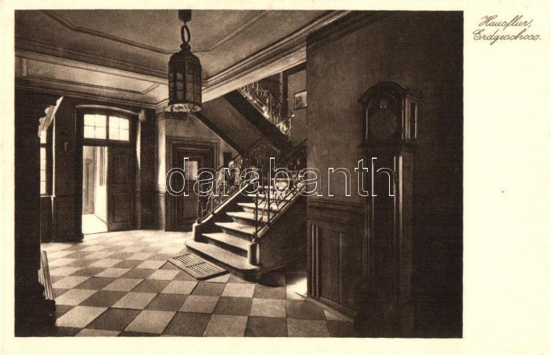 Frankfurt am Main, Goethehause, Erdgeschloss, Hausflur / interior