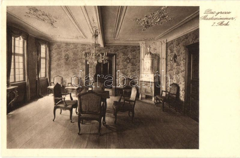 Frankfurt am Main, Goethehause, Grosse Staatszimmer / interior, room