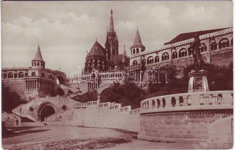 Budapest I. Fisher's Bastion, Matthias church, Budapest I. Halászbástya, Mátyás templom
