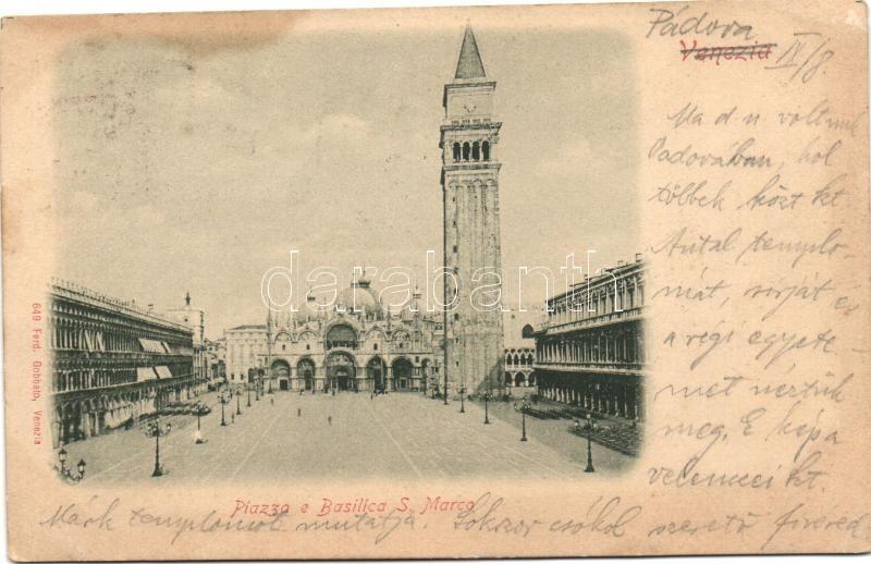 Venice, Venezia; Piazza e Basilica S. Marco / square, basilica