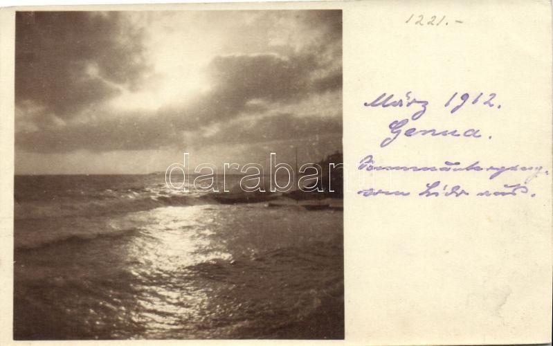 1912 Genova, Genua; photo