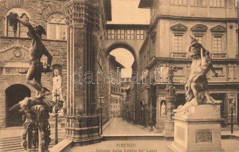 Firenze, Interno della Loggia de Lanzi
