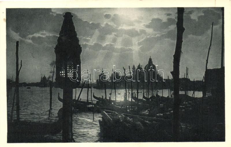 Venice, Venezia; Molo S. Marco, Chiesa della Salute / church