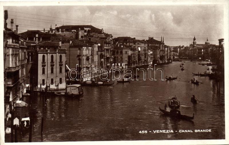 Venice, Venezia; Canal Grande