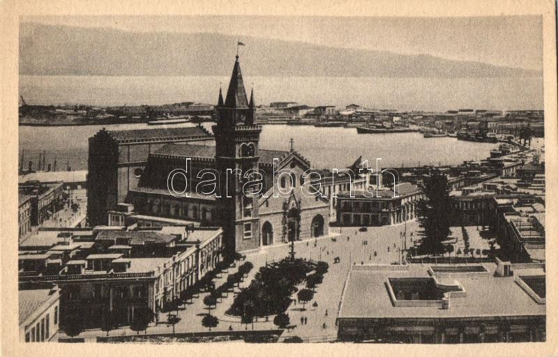Messina, Cattedrale, Porto / cathedral, port