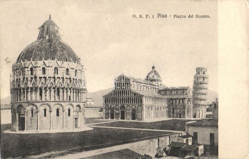 Pisa, Piazza del Duomo / doem square