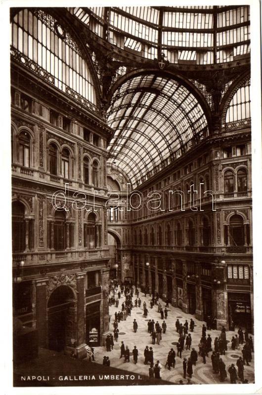 Naples, Napoli; Galleria Umberto I, interior
