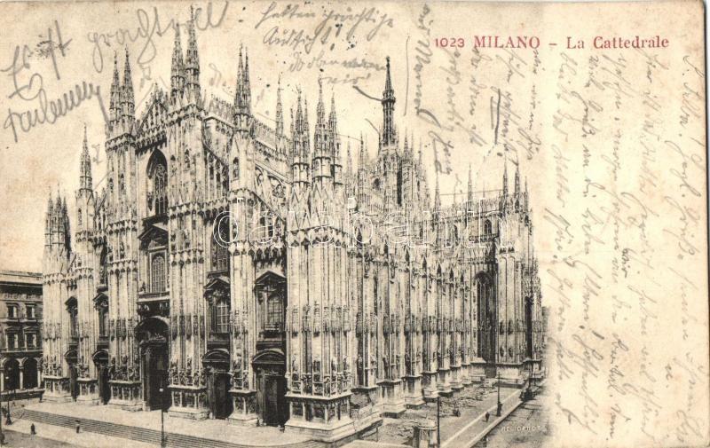 Milan, Milano; Cathedral