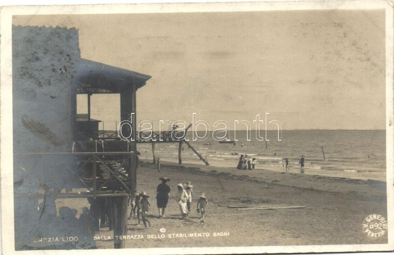 Venice, Venezia; Lido / beach