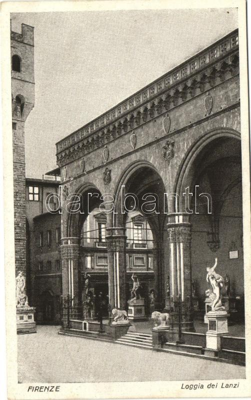 Firenze, Loggia dei Lanzi