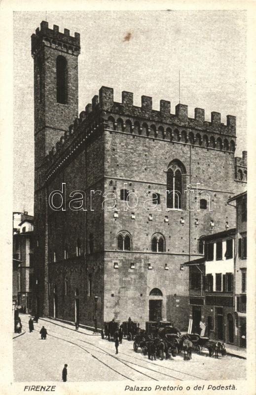 Firenze, Palazzo Pretorio o del Podesta / palace