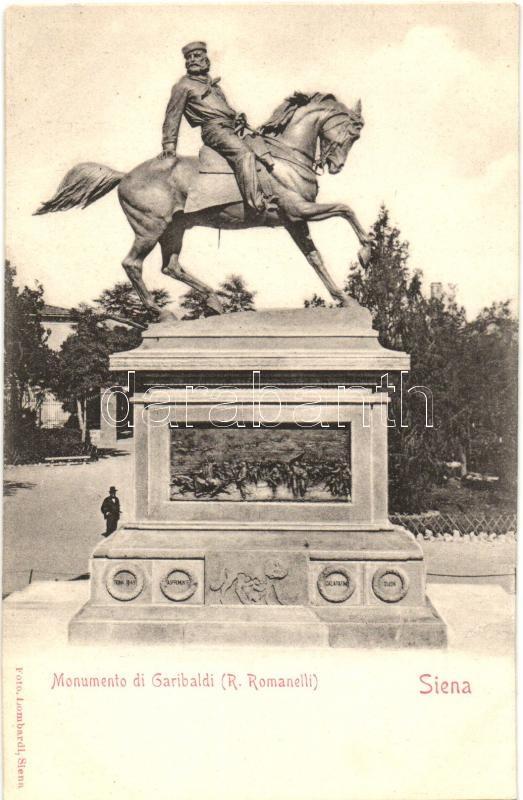 Siena, Monumento di Garibaldi