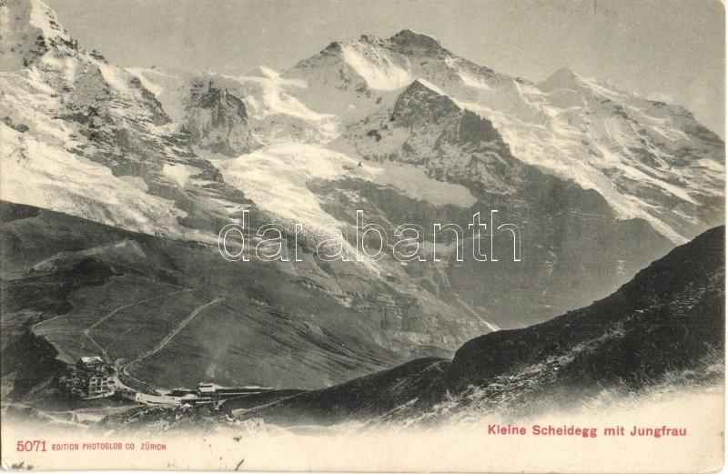 Kleine Scheidegg, Jungfrau